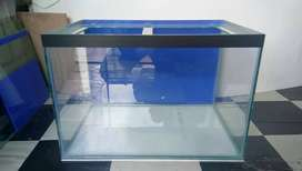 Aquarium ukuran 60x40x40 alas 8mm ddg 5mm