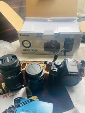 Canon 1500d One month used brand new