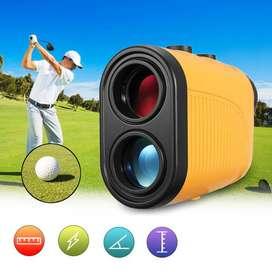 6X Golf Rangefinder Zoom Golfing Hunting Telescope Laser Finder