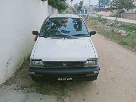 Maruti 800 tyre new music system seat cover new
