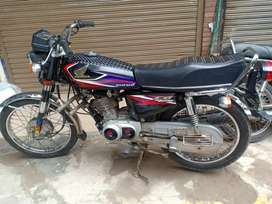 Honda 125 A one new condition