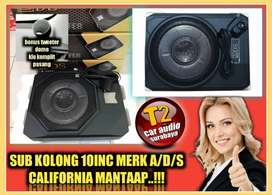 WOOWW SUBWOOFER KOLONG MERK ADS 10INC MANTAP BONUS TWEETER DOME