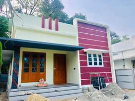 900sqft ,4.5 cent ,2bhk +stair room @Near cheriyappilly ,North paravur