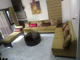 Sofa and Dining Combo with Centre Table