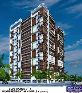 1 Bed Apartment Avialable For Sale Blue world City Rawalpindi.