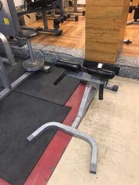 Gym machinery