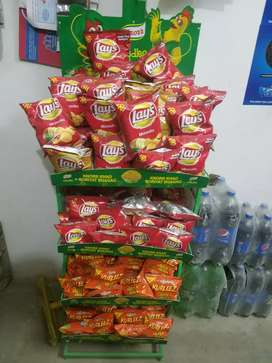 Lays / Chips Stand in new condition