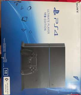 Ps4 1tb with excellent condition