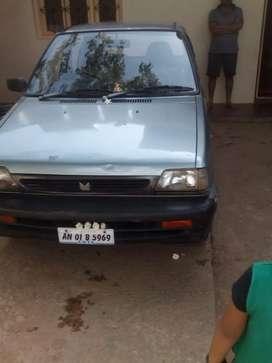 Maruti Suzuki 800 2001 Petrol Good Condition Karnataka tax pade