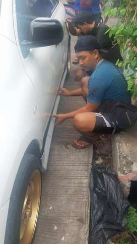 Bodykit samping old nissan march oke punya