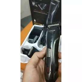 Clipper 3 in 1 profesional recharger alat cukur rambut bulu kmis sonar