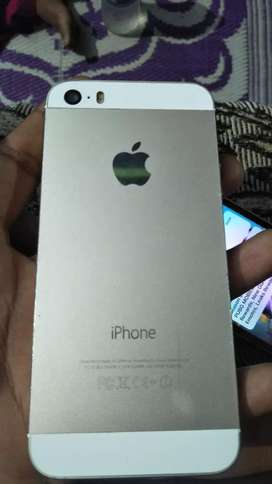 IPhone 5s Silver black