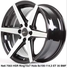 jual velg racing HSR ring 15 for datsun avanza xenia