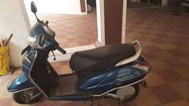 Activa 5G, Blue, 2018 less used