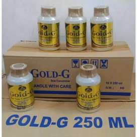 Herbal jerawat alami teripang laut gamat gold
