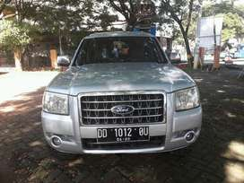 Ford Everest 2008 manual 4x4