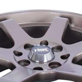 velg keren HSR Tokyo Ring 16x7 H8x100-1143 ET35 emi Matte Bronze