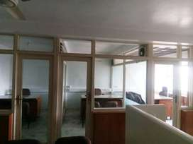 For Rent 4cabin 5seating Office just 22000/- Rent.
