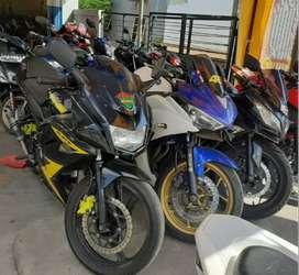 Rafael motor Teluk Dalam ada Kawasaki Ninja 250 cc