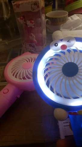 Mini Fan Light Karakter Berjayamitragadget