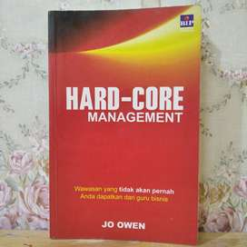 Buku Hard-Core Management Jo Owen