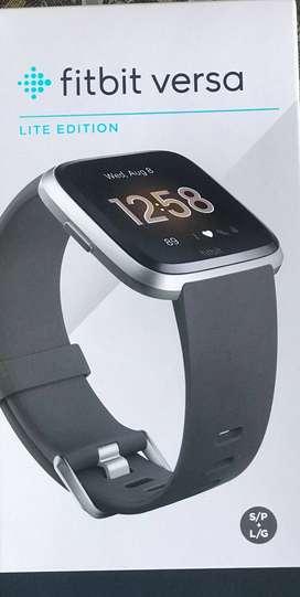 Fitbit Versa Lite Edition Smart Watch Charcoal Brandnew sealed pack