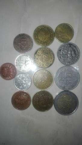 Koin dari tahun 1980-2010