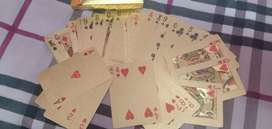 Card Games gold color