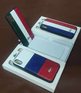 iphone x, xs, cover/case by lacoste
