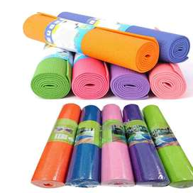 Yoga Mats, The last real gym! Exercise six days a week then nothing wi