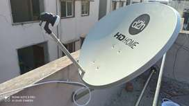 Dish fitting and Tv installations are available
