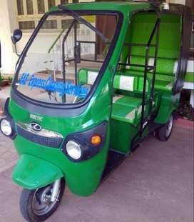 Kinetic Green Electric Passenger Rickshaw