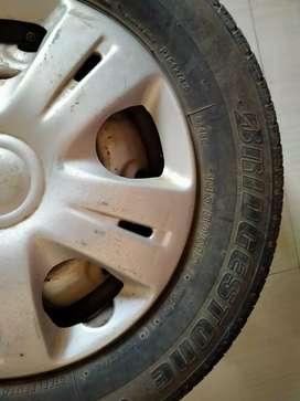 Alto new tyre ready to use