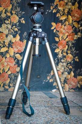 Professional Tripod - Strong and Powerful - Stainless Steal Made