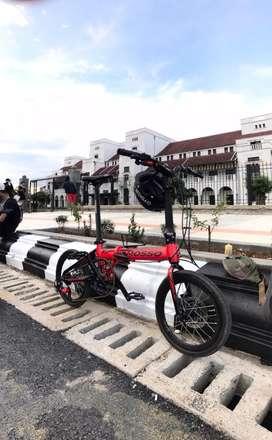 Sepeda Lipat Mosso F3 16inch