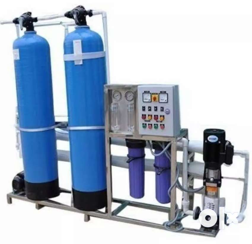 RO Plant Set with Chiller  Rs. 1,25,000/-