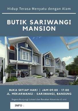 Dijual Perumahan Butik Sariwangi Mansion