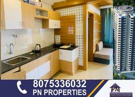 1bhk luxury furnished branded flat for rent at landmark world