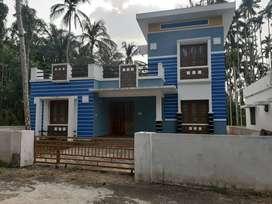 1400 SqFt villa/ 6cent/ 2 bhk/35 lakh/ wadakkanchery Thrissur