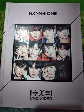 Album Wanna One Undivided All member + Poster