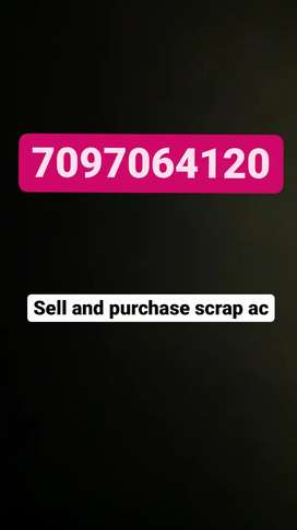 Sell and purchase ac scrap
