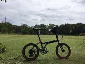 Sepeda lipat bekas seperti baru