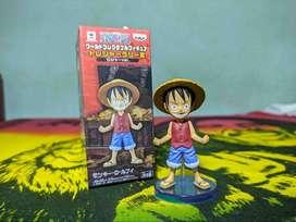 One piece, Luffy Ori 100% Banpresto dan 10 Set Anggota Topi Jerami