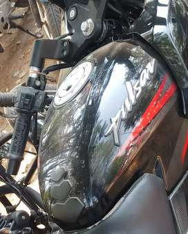 Petrol tunnky pulsar 220 black and red