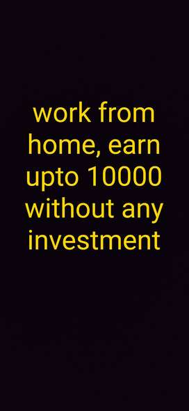 Part time offer,earn upto 10000
