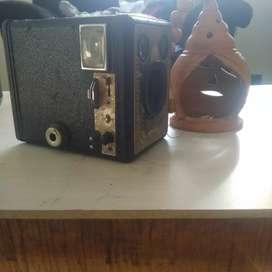 100 years old vintage camera on sail