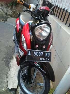 Yamaha fino th 2014 ss komplit pjk hdp mulus