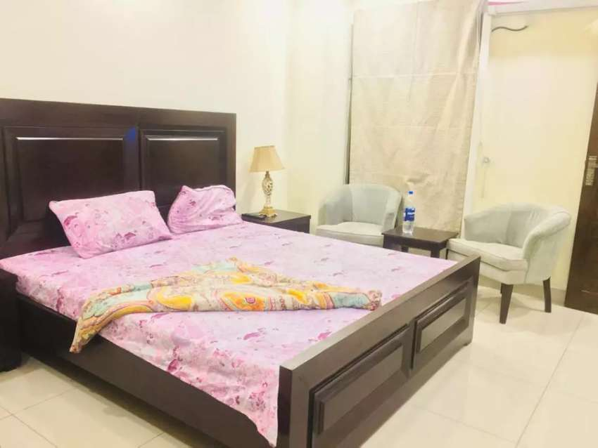 Furnished flates for Rent Bahria Town phase 4 0