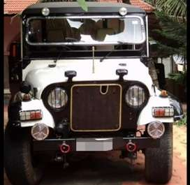 Modified military jeep