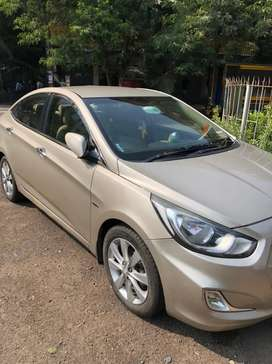 Hyundai Fluidic Verna 2011 Petrol Well Maintained